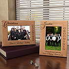 Personalized Groomsman Wooden Picture Frame