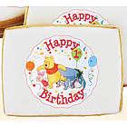 Winnie the Pooh First Birthday Cookies