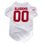 Alabama Crimson Tide Premium Pet Football Jersey