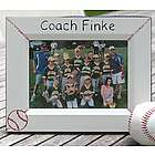 Personalized Baseball Photo Frame