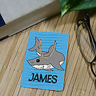Personalized Shark Bookmark