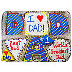 Best Dad Sugar Cookie Gift Tin