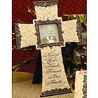 'Now in God's Hands' Sympathy Cross & Frame