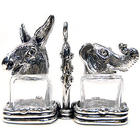 Republican & Democrat Salt and Pepper Shaker Set