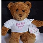 Personalized Breast Cancer Survivor Bear