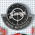 Personalized Garage Clock