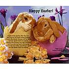 Easter Bunnies Personalized Print