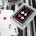 Personalized Two of a Kind Labels with Playing Card Decks