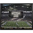 Personalized Dallas Cowboys Scoreboard 11x14 Canvas