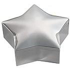 Personalized Silver Star Jewelry Box