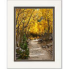 Graduation Poem Personalized Aspen Path Print