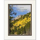 Godparents Poem Personalized Aspen Trees Print