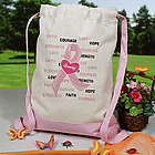 Hope and Love Breast Cancer Awareness Backpack