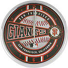 San Francisco Giants Chrome Clock