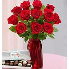 Lovely Mom Red Rose Bouquet