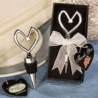 Heart Themed Wine Stopper Wedding Favor