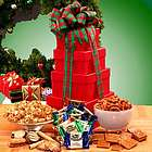 Holiday Sampler Treats Tower