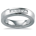 Men's DiamonUltra� Cubic Zirconia Wedding Ring