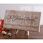Sentiments of the Home Canvas Art