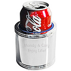 Engraved Silver Bachelor's Can Cooler