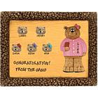 Personalized Co-Worker Bears Retirement Plaque