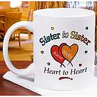 Heart to Heart Sisters Coffee Mug
