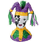 Mardi Gras Jester Piñata