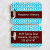 Her Design Personalized Luggage Tags