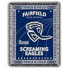 Xtreme Personalized Track and Field Afghan