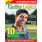 Personalized Golfer Magazine Cover Label
