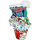 Let It Snow Holiday Pail