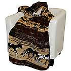 Microplush Horse Throw Blanket