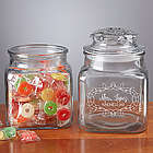 Teacher's Treats Engraved Glass Jar