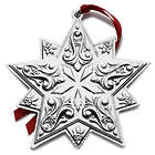 Towle 2016 Sterling Star Ornament