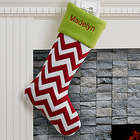 Holiday Tidings Personalized Stocking