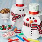 Decorate Your Own Snowman Gift Stack of Snacks
