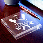 Personalized Baseball All-Star Keepsake Paperweight
