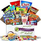 Candy and Snacks College Care Package Gift Basket
