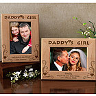 Personalized Daddy's Girl Wooden Picture Frame