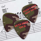 Camo Personalized Guitar Pick Set