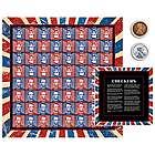 Lincoln Coin Checkers Set