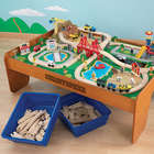 Kid's Personalized Waterfall Mountain Train Set and Table