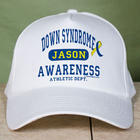 Personalized Down Syndrome Awareness Athletic Dept. Hat