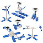 6-in-1 Solar Toy DIY Robot and Plane Educational Toy