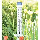 Solar-Powered Illuminated Thermometer