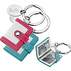 Mini Pocketbook Photo Frame Keychain