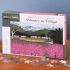 Flowers in Village 500-Piece Jigsaw Puzzle