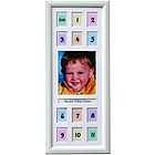 "First Year 7 1/2"" x 18 1/2"" Photo Frame"