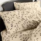 Full Paw Print Cotton Percale Sheet Set