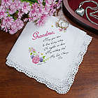 Tears of Joy Personalized Wedding Handkerchief